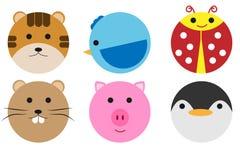 Animals circle stock photos