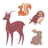 Animals clip art Stock Photos