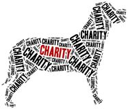 Animals or domestic pets charity. Royalty Free Stock Image