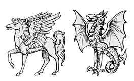 animals fairy vector Απεικόνιση αποθεμάτων