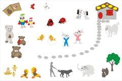 Animals favourite of children Stock Photography