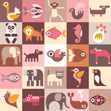 Animals, Fishes and Birds Royalty Free Stock Images