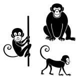 Animals icon set Royalty Free Stock Photos