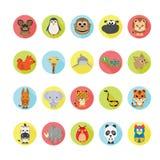 Animals icons set. Illustration eps10 Stock Image