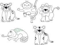 Animals illustration royalty free stock image