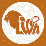 Animals logo-lion2 Royalty Free Stock Images