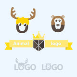 Animals logo Royalty Free Stock Photos