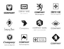 Animals logos Royalty Free Stock Photo