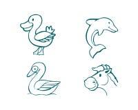 Animals misc b stock illustration