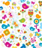 Animals pattern Royalty Free Stock Photo