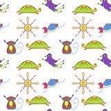 Animals_pattern Στοκ εικόνα με δικαίωμα ελεύθερης χρήσης