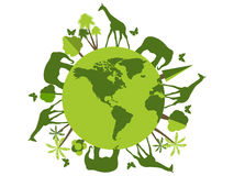 Animals on the planet, animal shelter, wildlife sanctuary. World Environment Day. Stock Image