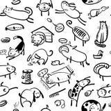 Animals seamless Stock Photo