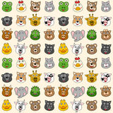 Animals Seamless Pattern [1] Stock Images