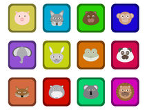Animals set Royalty Free Stock Images