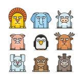 Animals set Stock Photography