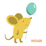 Animals set - mouse. Mouse isolated. Drawing mouse for a child Stock Photo