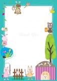 Animals Story Frame_eps Stock Photo