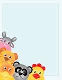 Animals template Stock Photo