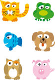 Animals (vector) stock image