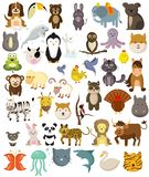 Animals wild animals and pets and farm animals vector illustration