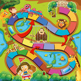 Animals zoo game Stock Photo