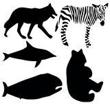 animalsymbols Stock Illustrationer
