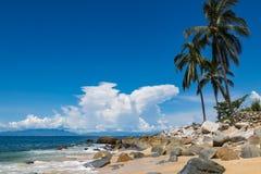 Animas de Playa Las en México imagenes de archivo