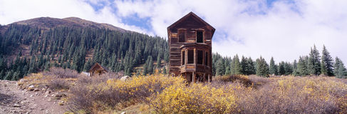 Animas Forks Ghost Town, Royalty Free Stock Images