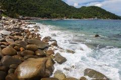 Animas Playa Las в Мексике стоковые фото