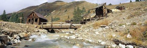 Animas rozwidlenia miasto widmo, Kolorado Fotografia Stock