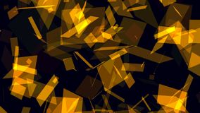 Animated abstract background with brown figures royalty free illustration