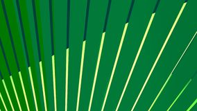 Animated abstract green background vector illustration