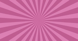 Animated background of purple rotating beams.  vector illustration