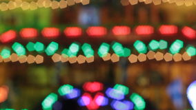 Animated bokeh lights Stock Image