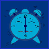 Animated clock Stock Images