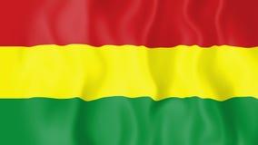 Animated flag of Bolivia