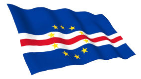 Animated flag of Cape Verde