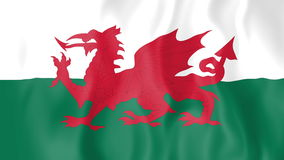 Animated flag of Wales