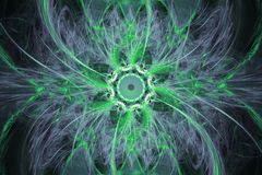 Animated fractal frequency space universe galaxy psychedelic music or for any other concept. Geometric patterns Stock Photos