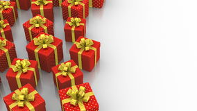 Animated Gift Boxes stock footage