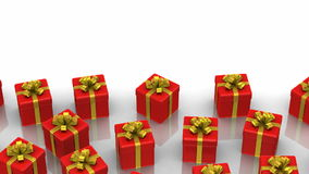 Animated Gift Boxes stock video