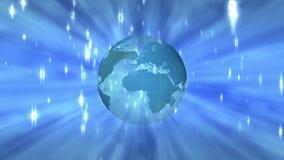 Animated globe stock illustration