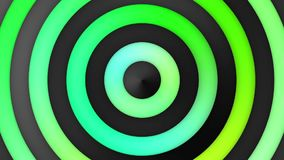 Animated Multicolor Green Gradient Stripes And Circles Loop stock video footage