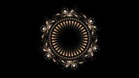 Animated Ornamental Vintage Decorative Background stock video footage