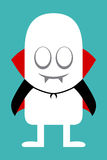 Animated personality Vampire Stock Images