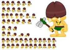 Animated Cavemen Character Sprites