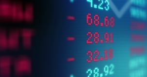 Stock Market Data - Stocks And Shares - Market Trading. Animated Stock Market Data - Stocks And Shares - Market Trading- Trading - micro currency stock footage