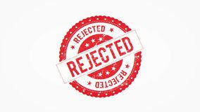 4k Approved rejected seal certificate clip