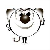 Animation cat.  illustration i Royalty Free Stock Photography